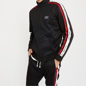 Men's Abercrombie and Fitch Track Suit XS Black